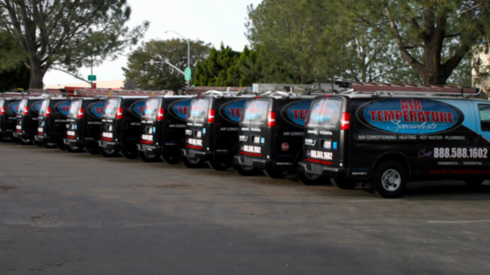 Picture of HVAC and Plumbing Repair Fleet at home in Murrieta and Temecula