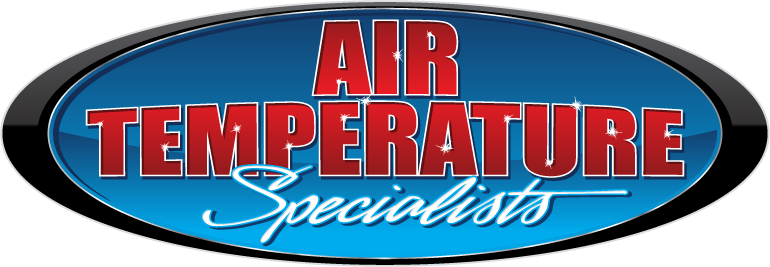 Logo for Air Temperature Specialists offering Air Conditioning Repair, Heating Repair, and Plumbing Service